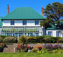 Governor's House, Stanley, Falkland Islands by Geoffrey Higges