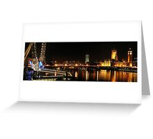 Westminster and the Wheel Greeting Card