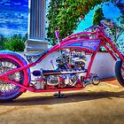 Custom Bike Chopper by CCLphotography