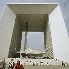 La Grande Arche de La Defense, Paris by Andrew Jones