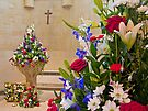 Corpus Christi  Flowers - Arundel Cathederal by Colin J Williams Photography