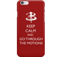 Go through the motion iPhone Case/Skin