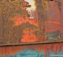 Rusty Door Panel by James Brotherton