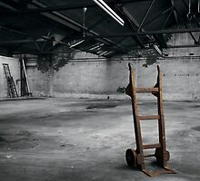 OLD WOOL MILL COLLECTION - TROLLEY by mrsvjones