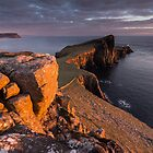 Neist Point Sunset by James Grant