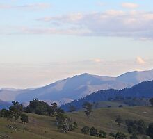 Hills in the Megalong by Geoff Smith