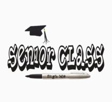 Senior Class Autograph T-Shirt by colormyworld