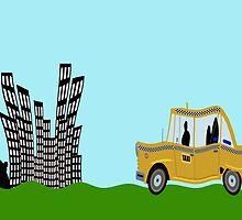 New York Cab by funkyworm