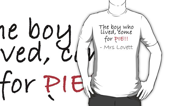 The boy who lived come for pie! by Catinabucket