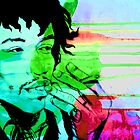 Jimi Hendrix by Keelin  Small