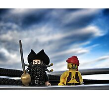 Pirate Practice: Sailing with the Captain Photographic Print