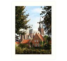 Castle, Huis Bergh, The Netherlands III Art Print