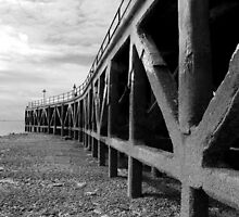The Old Barge Pier by Mark Cass
