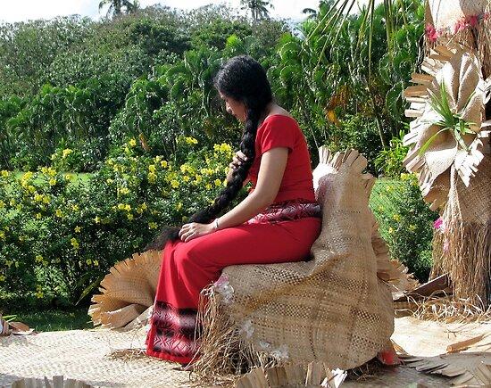 Samoa's Beauty by Jola Martysz