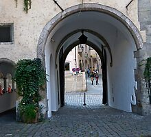 Salzburg Passageway by phil decocco