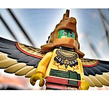 Bird-man (2 of 3) Photographic Print