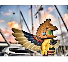Bird-man (1 of 3) Photographic Print