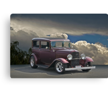 1932 Ford Tudor Sedan Canvas Print