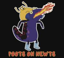 Poots on Newts by RedFlare