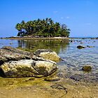 Low tide, Nai Yang, Phuket by Kevin Hellon