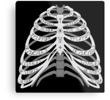 The Bones of a Winchester Metal Print