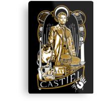 Castiel Nouveau Metal Print