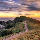 The Sunrise Path at Little Watego's by Cheryl Styles