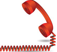 red telephone by valeo5