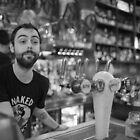 Melbourne Barman by John Violet