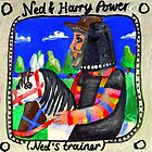 Ned Kelly and Harry Power by Penny Lewin - Hetherington