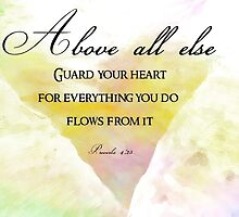 Guard your heart by Melissa Raissa