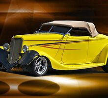 1933 Ford Roadster by DaveKoontz