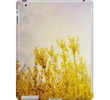 Sun Kissed Yellow Flowers iPad Case/Skin