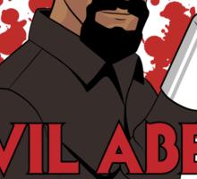 Evil Abed Sticker