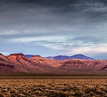 Nevada Bluffs Sunset by homendn