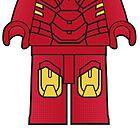 Iron Man Body Tshirt by Jonathan  Ladd