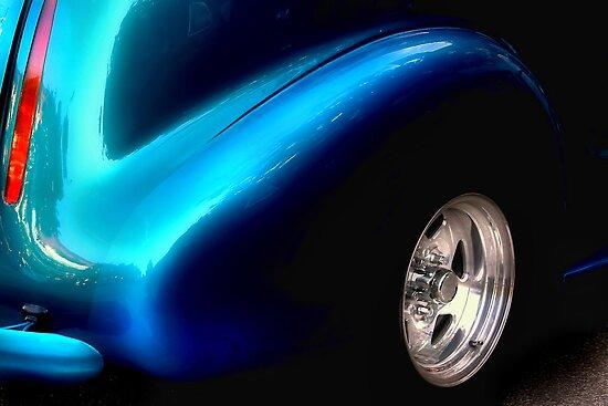 """ A Bit of Black a Bit of Blue "" by canonman99"