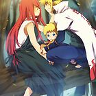 Naruto / Uzumaki family by banafria
