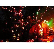 Jack-O-Lanterns 7 Photographic Print