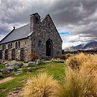 Church of the Good Shepherd, Lake Tekapo, South Island, New Zealand by Kevin Hellon
