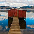 Hooper's Inlet, Otago Peninsular by Kevin Hellon