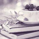 Fruity Tea bw by Tracy Jones