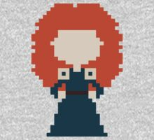 8-Bit Merida by rebeccaariel