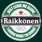 Kimi Raikkonen Leave Me Alone Circular Logo (I Know What I'm Doing) by oawan