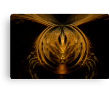 Flight of a Bumble Bee Canvas Print