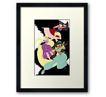Super Princesses  Framed Print