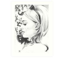 Miss Dior Art Print