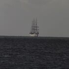 Statsraad Lehmkuhl in sight  by Craig  Meheut
