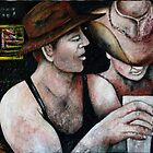 DROVERS AT THE BAR by Redlady