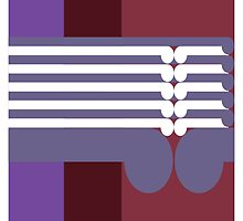 THE MIDDLE WAY  # 2 - abstract geometry - plate 17 by GeoAbstractions